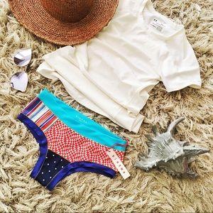 Xirena hybrid swim bikini bottom